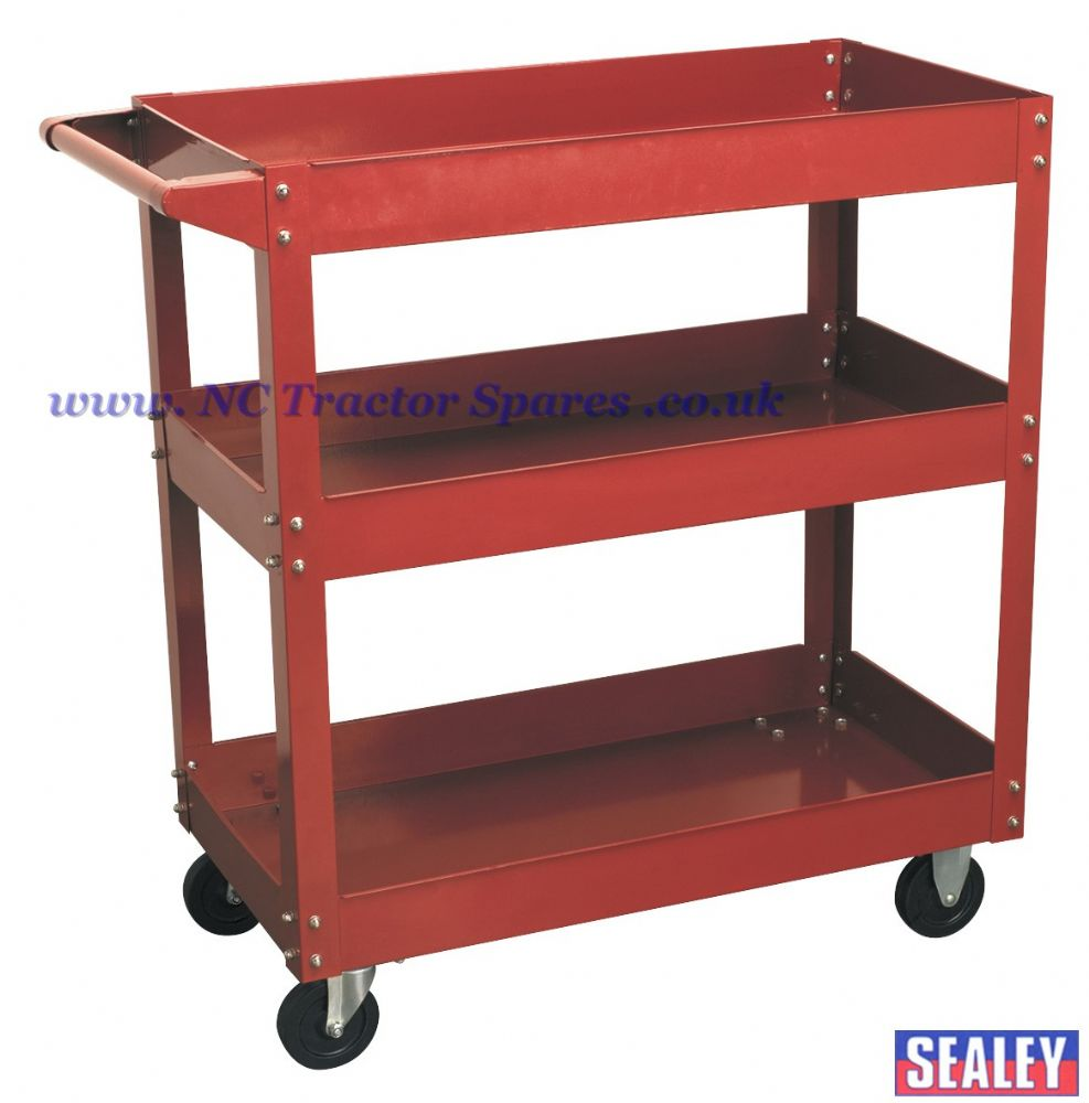 Workshop Trolley 3-Level Heavy-Duty
